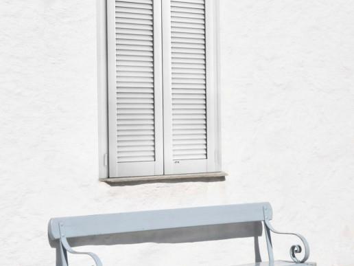 REGINETTA - Persiana in alluminio con lamelle aperte