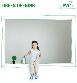 Green opening, Pvc windows - I Nobili