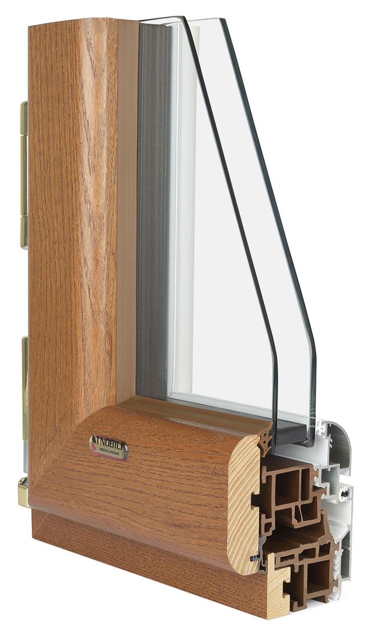 Granduca hp finestre legno abs alluminio i nobili for I nobili infissi opinioni