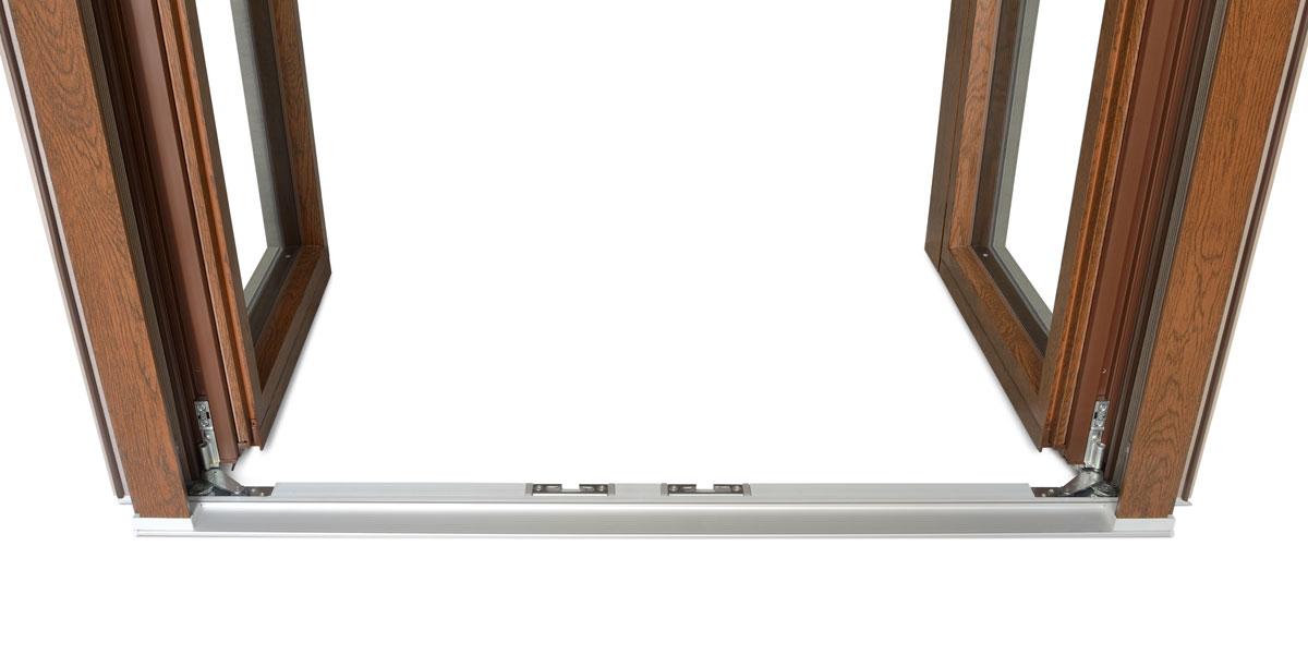 Gamma infissi legno alluminio sistema misto i nobili - Soglie per finestre ...