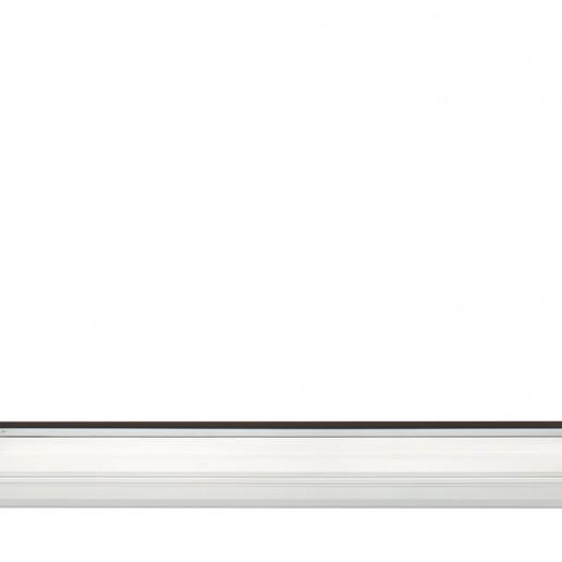 Fermavetri incassati e a filo soglia e telaio, della tipologia alzante scorrevole 1 anta apribile e laterale fisso fermavetro. Vista interna.