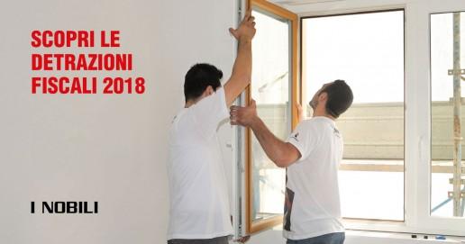 Ristrutturare casa le detrazioni fiscali del 2018 i nobili for Detrazioni fiscali 2018